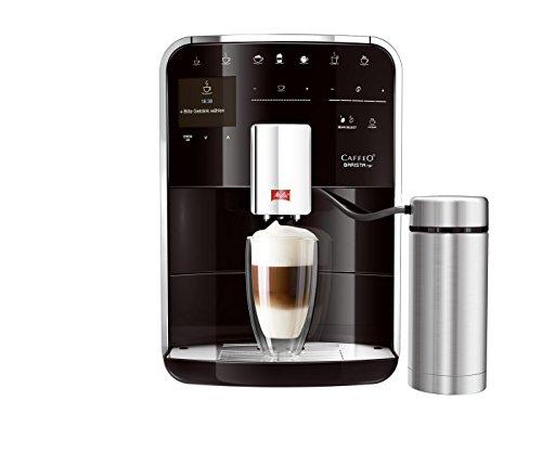 Melitta F 77/0-102 Kaffeevollautomat Caffeo Barista TSP Premium (Cappuccinatore) Edelstahl, 15 bar, schwarz
