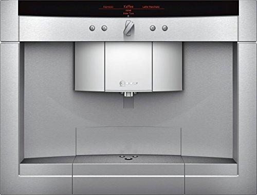 Neff CV 7760 N Einbau-Kaffeemaschine / 59,50 cm/Optimale Brühtemperatur und volles Aroma mit dem SensoFlowSystem/edelstahl